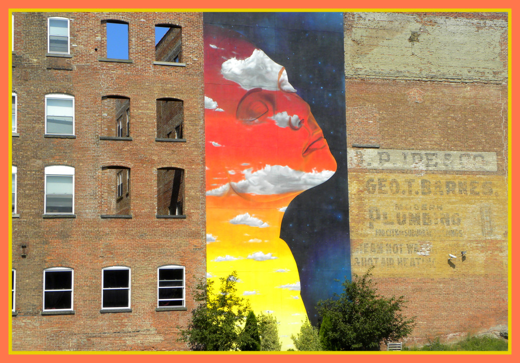 Newburgh  Mural Project - Transcendence