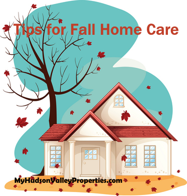 GETTING YOUR HOME READY FOR FALL in the Hudson Valley