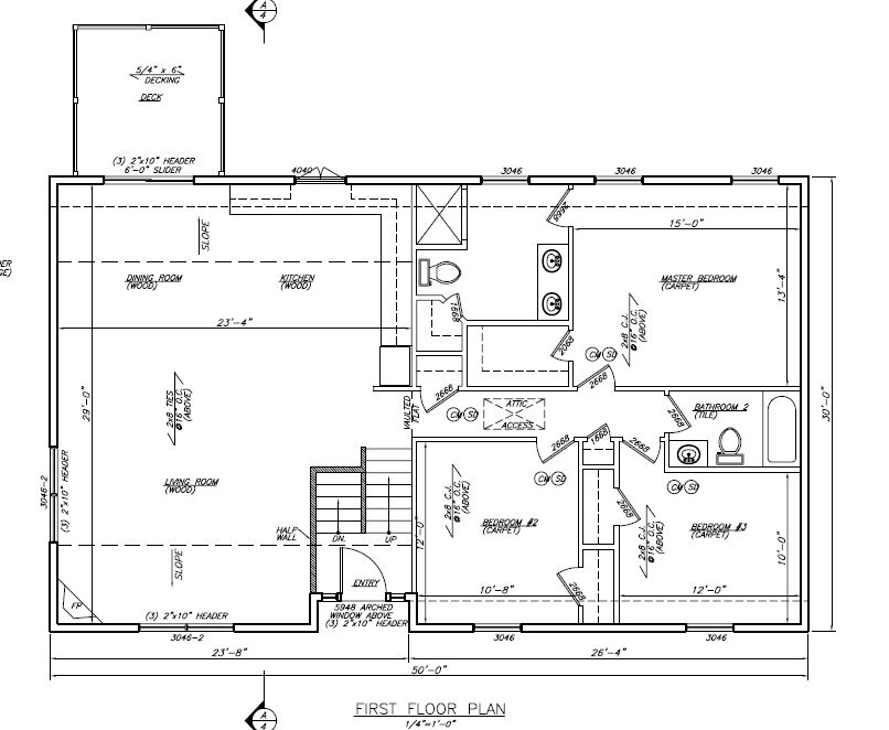 Floor Plans Gibson Estates Lot 2