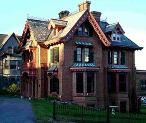 Architectural styles of homes in the Hudson Valley