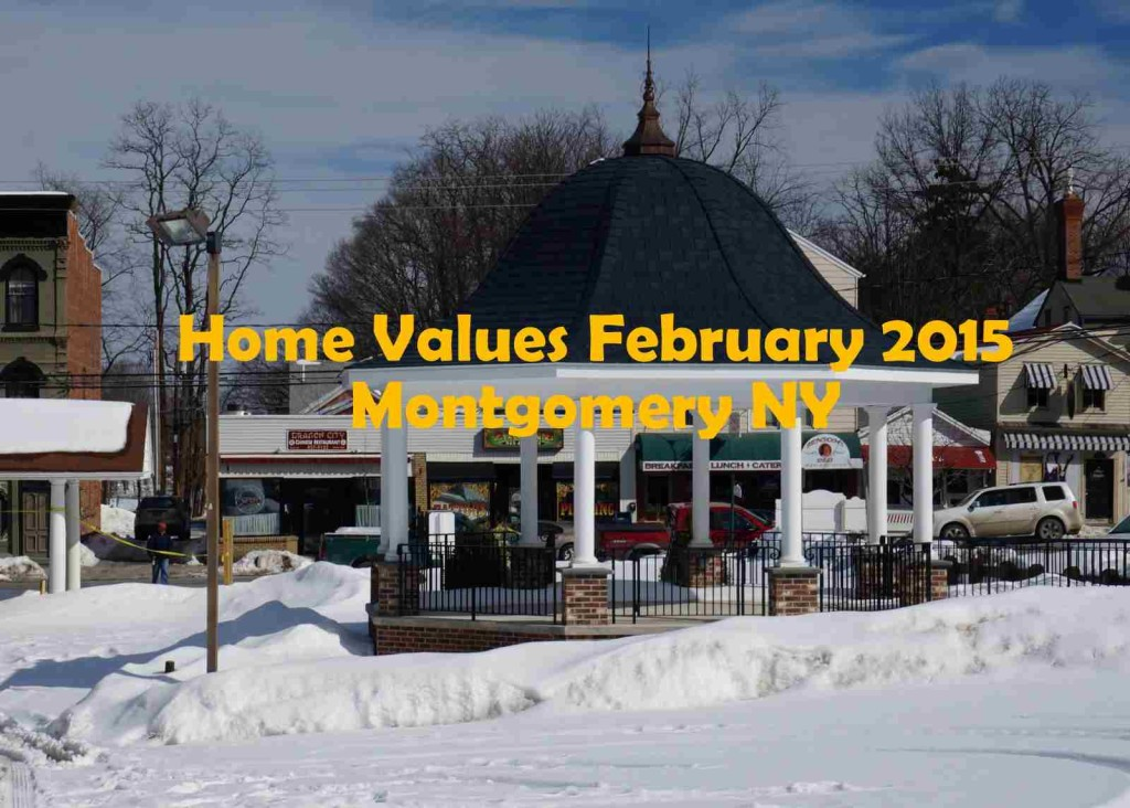 Montgomery NY Home Worth in February 2015