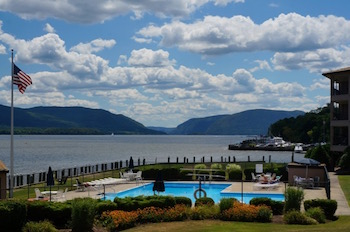 Pier Loun Pool and Views of the Hudson River