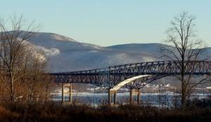 The Newburgh Beacon Bridge Winter 2014
