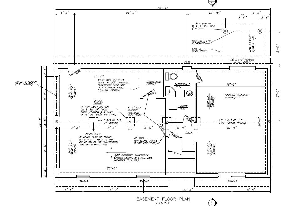 Gibson Estate Floor Plans Lot 3